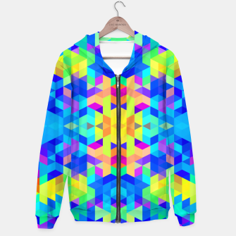 Abstract Colorful Pattern Hoodie Bild der Miniatur