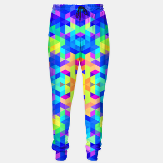 Abstract Colorful Pattern Sweatpants Bild der Miniatur