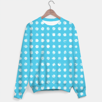 Thumbnail image of Handdrawn dotted Sweater, Live Heroes