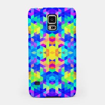 Abstract Colorful Pattern Samsung Case Bild der Miniatur