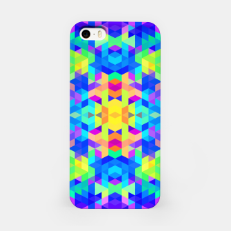 Abstract Colorful Pattern iPhone Case Bild der Miniatur
