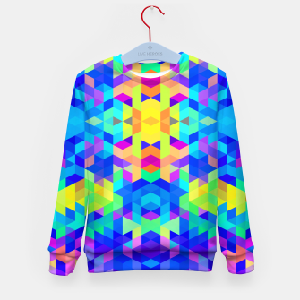 Imagen en miniatura de Abstract Colorful Pattern Kid's Sweater, Live Heroes