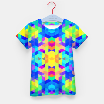 Abstract Colorful Pattern Kid's T-shirt Bild der Miniatur