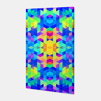 Abstract Colorful Pattern Canvas Bild der Miniatur