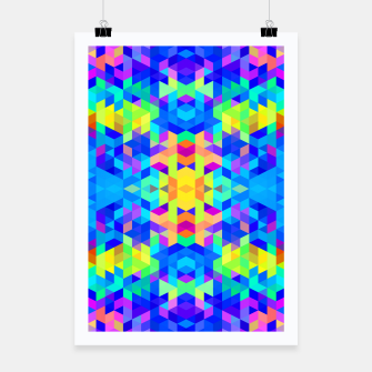 Abstract Colorful Pattern Poster Bild der Miniatur