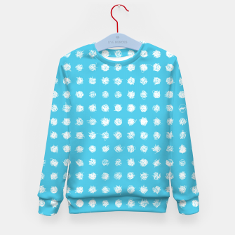 Thumbnail image of Handdrawn dotted Kid's Sweater, Live Heroes