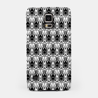 Miniatur Black and White Nouveau Samsung Case, Live Heroes
