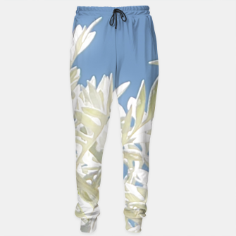 Thumbnail image of White Plants over Blue Sky Sweatpants, Live Heroes