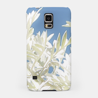 Thumbnail image of White Plants over Blue Sky Samsung Case, Live Heroes