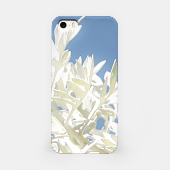 Thumbnail image of White Plants over Blue Sky iPhone Case, Live Heroes