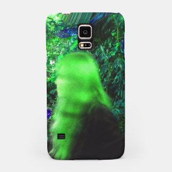 Thumbnail image of Walking by in greenhair Samsung Case, Live Heroes