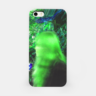 Thumbnail image of Walking by in greenhair iPhone Case, Live Heroes