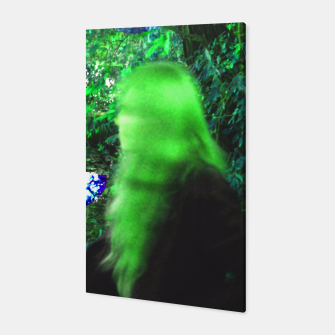 Thumbnail image of Walking by in greenhair Canvas, Live Heroes