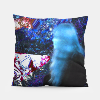 Thumbnail image of Bluehair in the lake Pillow, Live Heroes