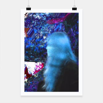 Thumbnail image of Bluehair in the lake Poster, Live Heroes