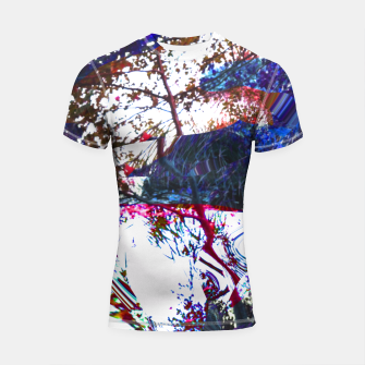 Thumbnail image of Bluehair in the lake Shortsleeve Rashguard, Live Heroes