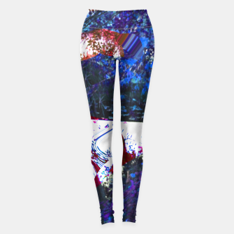 Thumbnail image of Bluehair in the lake Leggings, Live Heroes