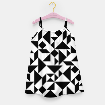 Miniature de image de Tangram Composition in Black and White Girl's Dress, Live Heroes