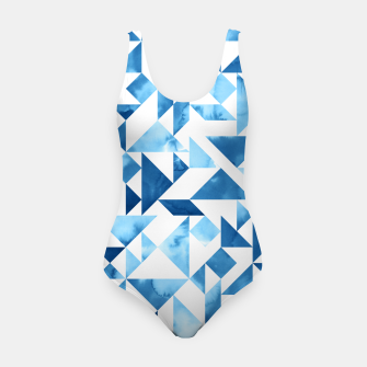 Miniature de image de Blue Tangram Composition Swimsuit, Live Heroes