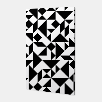 Miniature de image de Tangram Composition in Black and White Canvas, Live Heroes