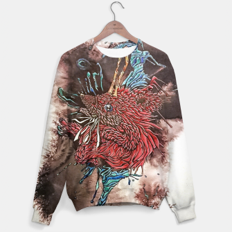 Thumbnail image of Shaolin Galaxian Hedgehog of Fury  Sweater, Live Heroes
