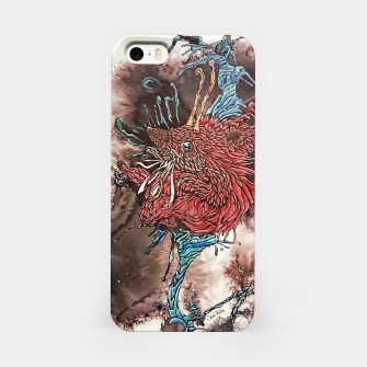 Thumbnail image of Shaolin Galaxian Hedgehog of Fury  iPhone Case, Live Heroes
