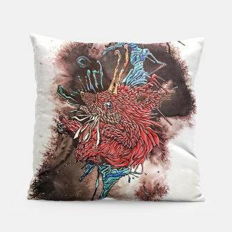 Thumbnail image of Shaolin Galaxian Hedgehog of Fury  Pillow, Live Heroes