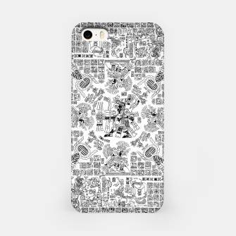 Thumbnail image of Mayan Spring B&W iPhone Case, Live Heroes