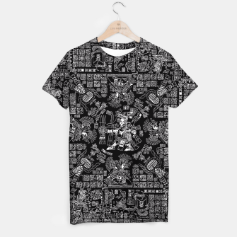 Thumbnail image of Mayan Spring B&W II T-shirt, Live Heroes
