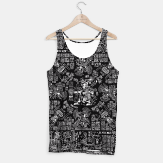 Thumbnail image of Mayan Spring B&W II Tank Top, Live Heroes