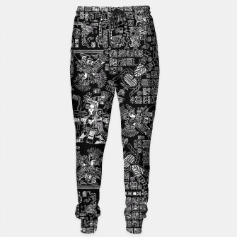Thumbnail image of Mayan Spring B&W II Sweatpants, Live Heroes