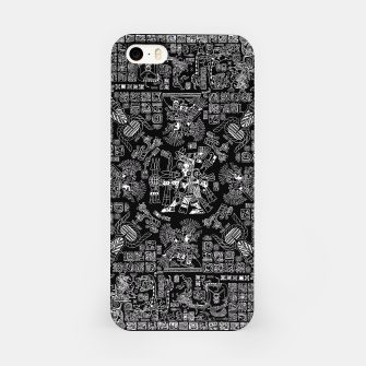 Thumbnail image of Mayan Spring B&W II iPhone Case, Live Heroes