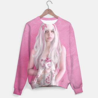 Thumbnail image of Little Gray Cat Sweater, Live Heroes