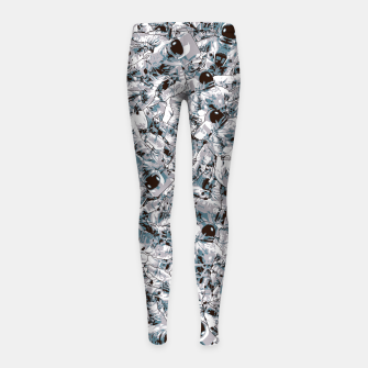 Crowded Space Girl's Leggings thumbnail image