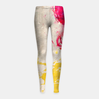 Thumbnail image of JOY Girl's Leggings, Live Heroes