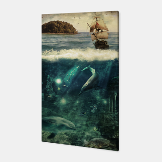 Thumbnail image of Water World Canvas, Live Heroes