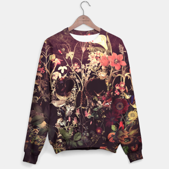 Thumbnail image of Bloom Skull Sweater, Live Heroes