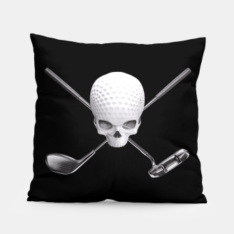 Thumbnail image of Fairway to Hell Pillow, Live Heroes