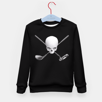 Thumbnail image of Fairway to Hell Kid's Sweater, Live Heroes