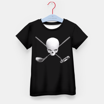 Thumbnail image of Fairway to Hell Kid's T-shirt, Live Heroes