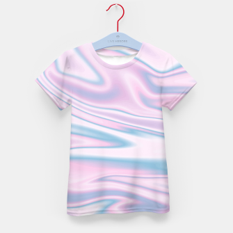 Thumbnail image of Holographic Design T-Shirt für Kinder, Live Heroes