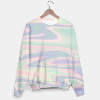 Thumbnail image of Holographic Design Sweatshirt, Live Heroes