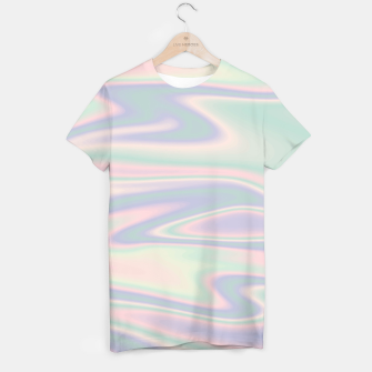 Thumbnail image of Holographic Design T-Shirt, Live Heroes