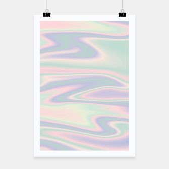 Thumbnail image of Holographic Design Plakat, Live Heroes
