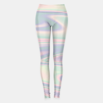 Thumbnail image of Holographic Design Leggings, Live Heroes