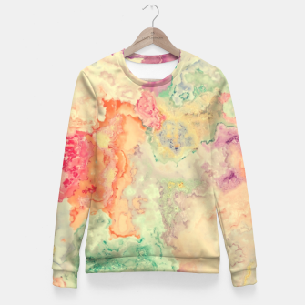 Vibrant Pastel Fitted Waist Sweater thumbnail image
