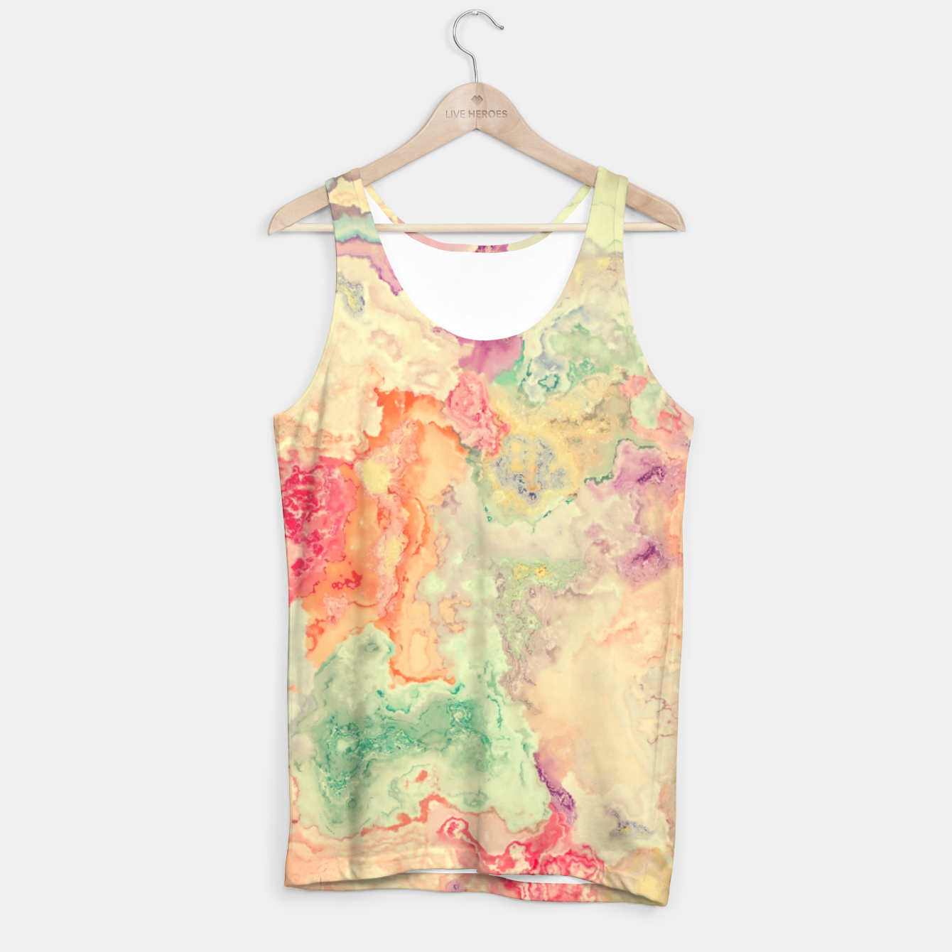 Image of Vibrant Pastel Tank Top - Live Heroes