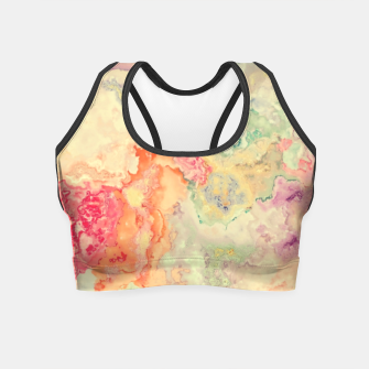 Thumbnail image of Vibrant Pastel Crop Top, Live Heroes