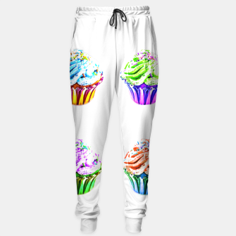 Thumbnail image of Cupcake Popart Sweatpants, Live Heroes