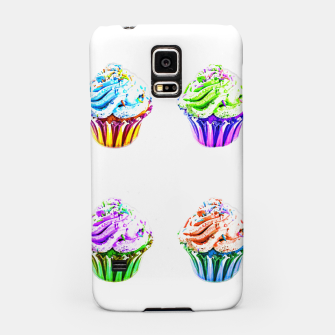 Thumbnail image of Cupcake Popart Samsung Case, Live Heroes